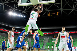 Marvin Jones of Petrol Olimpija during basketball match between KK Petrol Olimpija and KK Rogaska in Round #5 of Liga Nova KBM za prvaka 2018/19, on March 31, 2019, in Arena Stozice, Ljubljana, Slovenia. Photo by Masa Kraljic / Sportida