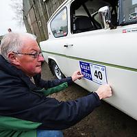 Car 40 Ron Kendall Nick Cooper Ford Anglia 105E