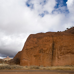 Slickrock Scramble at Red Rock Park, New Mexico.