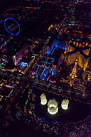 Las Vegas Strip (featuring Fountains of Bellagio)