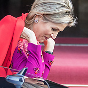 NLD/Amsterdam/20191204 - Koninklijke familie bij Prins Claus Prijs 2019, Koningin Maxima
