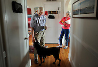 REEDVILLE, VA - DECEMBER 5:  At home with his wife, Janet, during a brief lunch-time break from the clinic, the only doctor in an aging community along the Chesapeake Bay, Doctor Emory Lewis takes care of primarily Medicare patients in Reedville, Virginia, Monday, December 5, 2011. (Photo by Melina Mara/The Washington Post) . ...