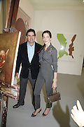 Peter Brant and Stephanie Seymour , The Professional View and Private View of Frieze Art Fair. London. 11 october 2006. -DO NOT ARCHIVE-© Copyright Photograph by Dafydd Jones 66 Stockwell Park Rd. London SW9 0DA Tel 020 7733 0108 www.dafjones.com