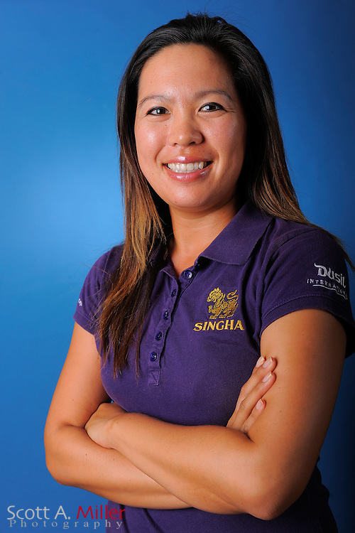 Tiffany Tavee during a portrait session prior to the second stage of LPGA Qualifying School at the Plantation Golf and Country Club on Sept. 24, 2011 in Venice, FL...©2011 Scott A. Miller