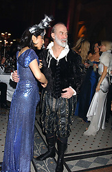PATTI WONG and PRINCE MICHAEL OF KENT at Andy & Patti Wong's annual Chinese New Year party, this year celebrating the year of the dog held at The Royal Courts of Justice, The Strand, London WC2 on 28th January 2006.<br />