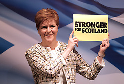 Nicola Sturgeon, Wednesday, 27th November 2019<br /> <br /> Pictured: Scotland's First Minister Nicola Sturgeon launches the SNP manifesto for the 2019 General Election<br /> <br /> Alex Todd | Edinburgh Elite media