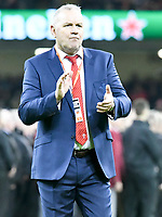 Rugby Union - 2019 / 2020 season - Wales vs. Barbarians<br /> <br /> New Wales coach Wayne Pivac prior to his first game in charge, at The Principality (Millennium) Stadium.<br /> <br /> COLORSPORT/WINSTON BYNORTH