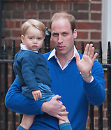 Princes George & William