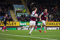 Jay Rodriguez of Burnley celebrates after scoring his sides first goal - Mandatory by-line: Jack Phillips/JMP - 04/01/2020 - FOOTBALL - Turf Moor - Burnley, England - Burnley v Peterborough United - English FA Cup