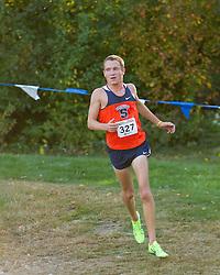 Boston College Invitational Cross Country race at Franklin Park; Joel Hubbard, Syracuse