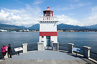 Brockton Point Lighthouse - Stanley Park, Vancouver, B.C.
