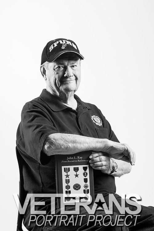 John Ray<br /> Army<br /> O-5<br /> Finance<br /> 1942-1945<br /> 1950-1968<br /> WWII (Europe &amp; Africa)<br /> Korea<br /> <br /> Veterans Portrait Project<br /> Colorado Springs, CO San Antonio, Texas