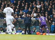 Bolton Wanderers Manager Phil Parkinson  during the EFL Sky Bet Championship match between Leeds United and Bolton Wanderers at Elland Road, Leeds, England on 30 March 2018. Picture by Paul Thompson.