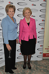 Left to right, DAME NORMA MAJOR and MARY BERRY at the Oldie Magazine's Oldie of The Year Awards held at Simpson's In The Strand, London on 4th February 2014.