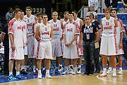 DESCRIZIONE : Vilnius Lithuania Lituania Eurobasket Men 2011 Second Round Russia Macedonia Russia FYR of Macedonia<br /> GIOCATORE : team<br /> CATEGORIA : team<br /> SQUADRA : Russia <br /> EVENTO : Eurobasket Men 2011<br /> GARA : Russia Macedonia Russia FYR of Macedonia<br /> DATA : 12/09/2011<br /> SPORT : Pallacanestro <br /> AUTORE : Agenzia Ciamillo-Castoria/M.Metlas<br /> Galleria : Eurobasket Men 2011<br /> Fotonotizia : Vilnius Lithuania Lituania Eurobasket Men 2011 Second Round Russia Macedonia Russia FYR of Macedonia<br /> Predefinita :