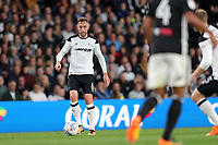 DERBY, ENGLAND - MAY 11: - DCFC vs Fulham. Richard Keogh, gets on the ball