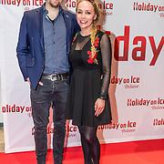 NLD/Utrecht//20170323 - Première 'Believe' van Holiday On Ice, Sabine Uitslag en partner Menno Braakman