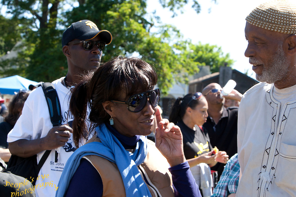 These are some of the photographs taken during the commemoration of the life of Geronimo ji Jaga Pratt on 7/17/2011 at L'il Bobby Hutton Park in West Oakland, CA.