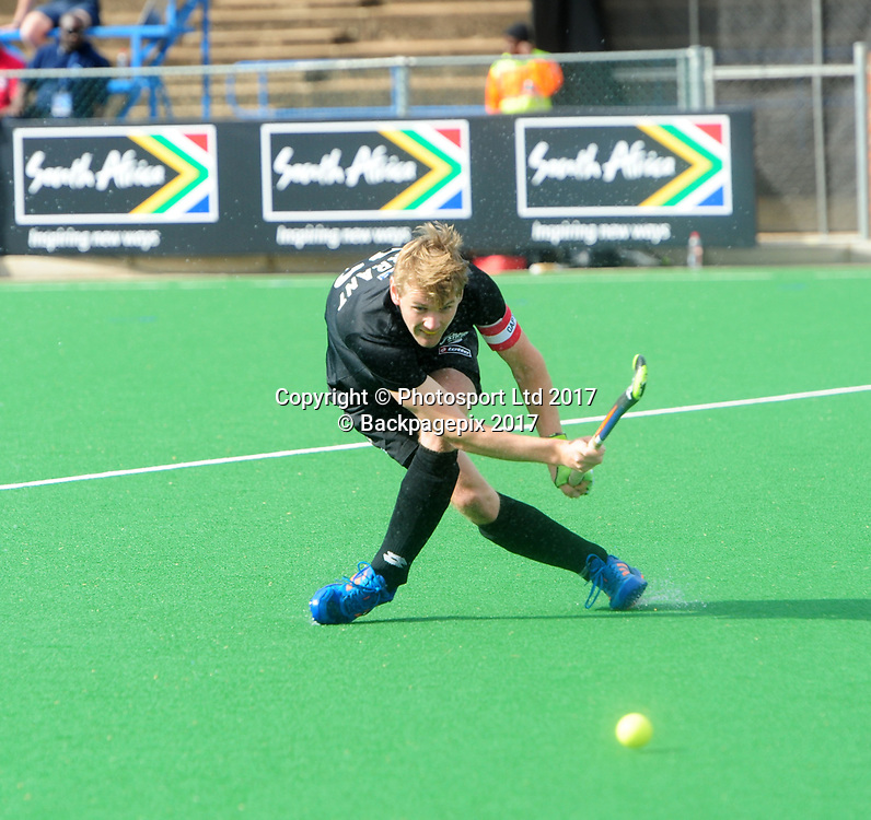 Blair Tarrant of New Zealand during 2017 Hockey World League Men Semi Final game between Spain and New Zealand at Wits Hockey Fields in Parktown on 17 July 2017 ©Aubrey Kgakatsi/BackpagePix / www.photosport.nz