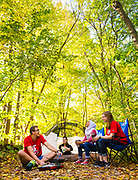 Wisconsin Union and Hoofers Club camping. (Photo © Andy Manis)