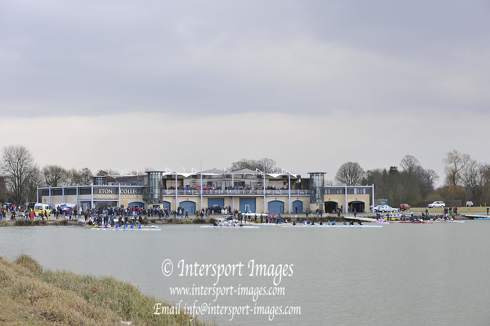 Eton. Great Britain,  General view,  Eton Racing Centre Boathouse,  at the 2010 OARSport Junior Sculling Head. [Scullery], Eton Rowing Centre, Dorney Lake, Berkshire, England,  12  - 12/03/2010  -  [Mandatory Credit. Peter Spurrier/Intersport Images]