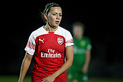 Arsenal forward Katie McCabe (15) during the FA Women's Super League match between Arsenal Women and Yeovil Town Women at Meadow Park, Borehamwood, United Kingdom on 20 February 2019.