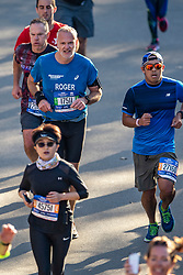 04-11-2018 USA: 2018 TCS NYC Marathon, New York<br /> Race day  TCS New York City Marathon / Roger