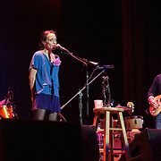 Fiona Apple and Blake Mills perform at the Lincoln Theatre in Washington, D.C. (Photo by Kyle Gustafson / www.kylegustafson.com)