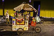 Food cart in Granada, Nicaragua