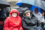DEAL FESTIVAL 2017. HAMLET at Dover Castle, sadly subjected to torrential rain. But that didn't dampen either cast or the audience. © Tony Nandi 2107