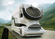 The million dollar mobile home: State-of-the-art RV boasts eight flat screen TVs, sky lounge rooftop, tanning beds and fireplaces<br /> <br /> A million dollars should get you a pretty nice house in most places, but you'll need to find a parking spot for this one.<br /> A range of state-of-the art RVs have hit the market with an eye-watering starting price tag of $1,374,451 - but they are a whole different breed to the campers snow-haired retirees favored in the 1970s.<br /> Rather than just a place to sleep while on the road, these mobile mansions have more amenities than your average Hamptons summer rental, decked out with upright pianos, treadmills, tanning beds, recording studios for musician types, and fireplaces.<br /> <br /> These motorhomes deluxe pimp up to eight Samsung LED LCD flat screens - plus two flat screens in the driver's area. Some also come with an electronic liquor-dispensing system and a rain shower with integrated LED lighting in the ceiling.<br /> Getting eight miles on a gallon of gas, the hulking house-on-wheels isn't the most fuel efficient vehicle. But if you're splurging $1 million on one, petrol prices are probably not a huge concern. <br /> If you want to spend even more, you can get a sky lounge rooftop and a full pop-out patio complete with an ice machine, fridge, full-sized grill, six-foot long table and surround sound. Road trip anyone? <br /> ©marchi-mobile.com/Exclusivepix