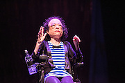 Disabled activist, actor and comedian Liz Carr has chosen the spectacular world of musical theatre as the backdrop to exploring the complex and controversial subject of assisted suicide in her new show Assisted Suicide: The Musical. Part of London Southbank's UNLIMITED: Extraordinary new work by disabled artists. Picture features: Liz Carr