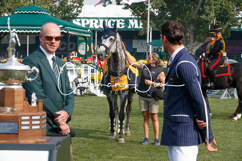 Philippaerts Nicola, BEL, Allison Ian, CAN, Simpson John, CAN, <br /> Spruce Meadows Masters - Calgary 2017<br /> &copy; Dirk Caremans<br /> 07/09/2017,