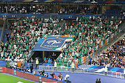 Supporters of Republic of Irland in stand during the FIFA Friendly Game football match between France and Republic of Ireland on May 28, 2018 at Stade de France in Saint-Denis near Paris, France - Photo Stephane Allaman / ProSportsImages / DPPI