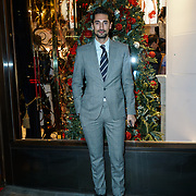 Hugo Taylor attends the Aspinal of London store on Regent's Street St. James's on December 5, 2017 in London, England.