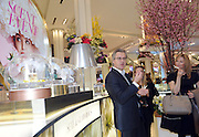 Perfumer Frank Voelkl, of Firmenich, discusses his new scents for spring at the 2016 Macy's Flower Show Scent event at Herald Square, Monday, March 21, 2016, in New York.  (Diane Bondareff/AP Images for Macy's Inc.)
