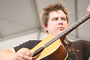 June 16, 2006; Manchester, TN.  2006 Bonnaroo Music Festival..Nickel Creek peforms at Bonnaroo 2006.  Photo by Bryan Rinnert