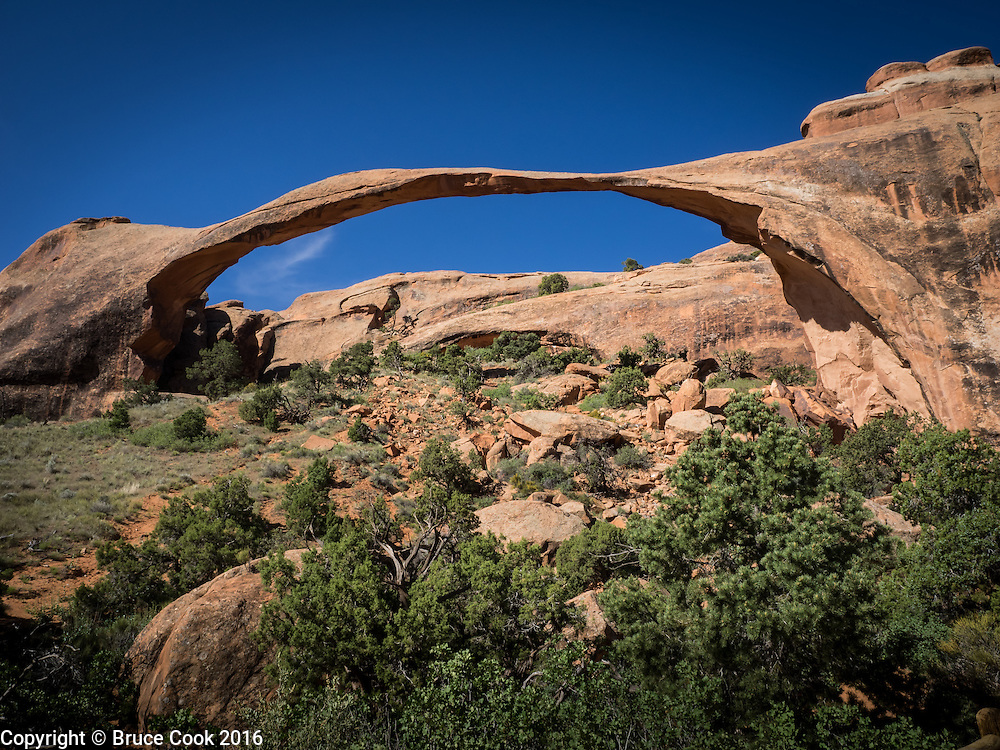 Landscape Arch, Arches National Park.