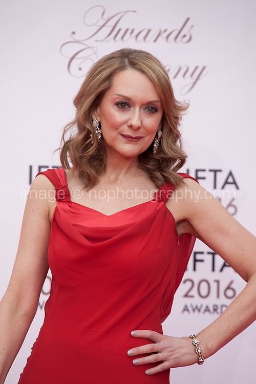 Actress Cathy Belton at the IFTA Film & Drama Awards (The Irish Film & Television Academy) at the Mansion House in Dublin, Ireland, Saturday 9th April 2016. Photographer: Doreen Kennedy