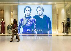 view of Elie Saab fashion boutique inside Dubai Mall in United Arab Emirates