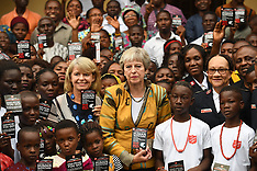 Theresa May trip to Africa - 29 Aug 2018