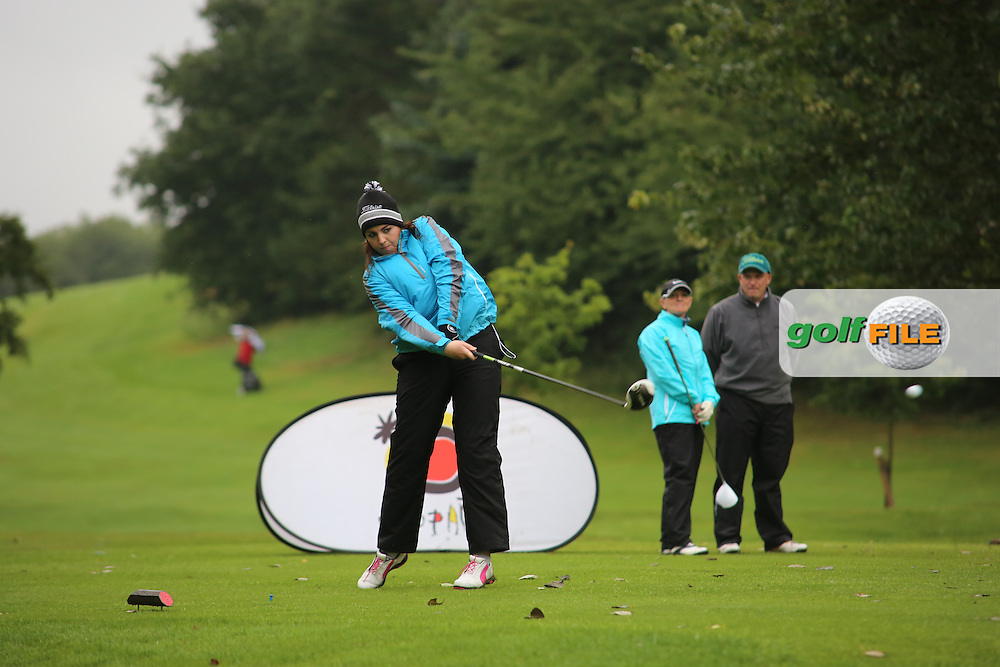 Lauren Patton (Strabane) during the Ulster Mixed Foursomes Final, Shandon Park Golf Club, Belfast. 19/08/2016<br /> <br /> Picture Jenny Matthews / Golffile.ie<br /> <br /> All photo usage must carry mandatory copyright credit (© Golffile   Jenny Matthews)