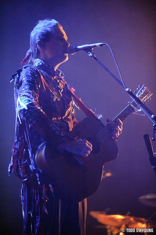 Jónsi performs at the Pageant in St. Louis, Missouri on November 2, 2010