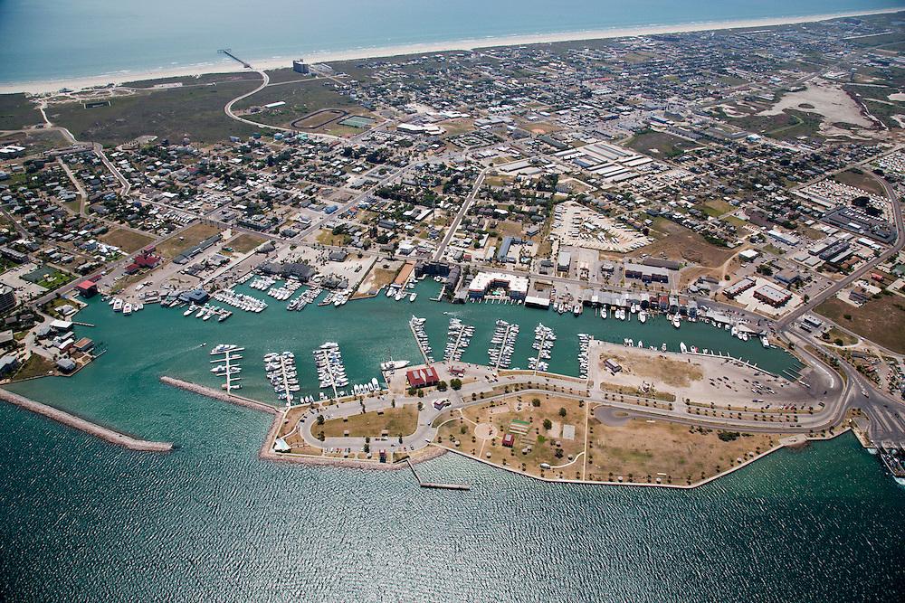 Port Aransas Aerial Photography by Tim Burdick