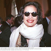 Bianca Jagger. Graydon Carter's party for Henry Porter's book launch. The Traveller's Club. London. 25 May 1999. © Copyright Photograph by Dafydd Jones<br />66 Stockwell Park Rd. London SW9 0DA<br />Tel 0171 733 0108