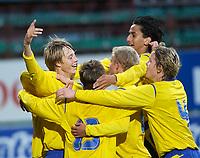 Fotball<br /> Landskamp G15<br /> Alfheim Stadion<br /> 12.09.2006<br /> Norge v Sverige 1-1<br /> Foto: Kaja Baardsen, Digitalsport<br /> <br /> Viktor Lundberg utliknet for Sverige