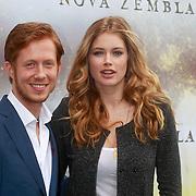 NLD/Amsterdam/20110407 - Castpresentatie film Nova Zembla 3D, Robert de Hoog en Doutzen Kroes