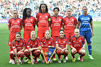 Olympique team line up<br /> Reggio Emilia 26-05-2016 <br /> Wolfsburg - Lyon <br /> Women's Champions League Final . Foto Andrea Staccioli / Insidefoto