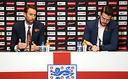 England Press Conference - 02 Nov 2017