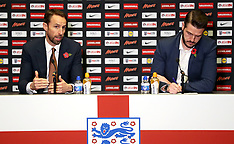 England Press Conference - 02 Nov 2017